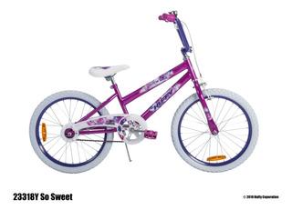 Bicicleta Huffy So Sweet 20tt Morado