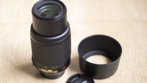 Lente Nikon 55-200mm Dx Vr