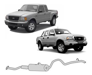 Silencioso Ranger 2.3 2001 2002 2003 2004 Cabine Estendida