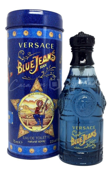 Versace Blue Jeans 75ml Masculino   Original + Amostra