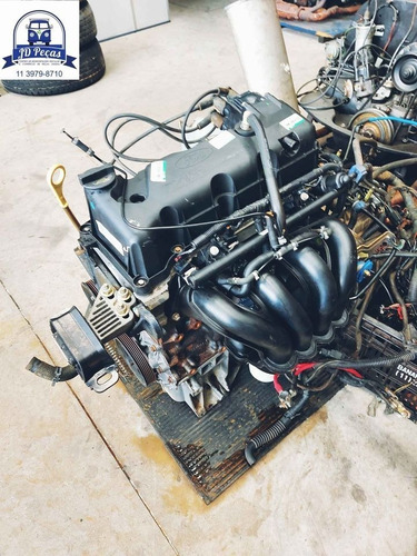 Motor Zetec Rocam 1.6 Flex (com Nota E Baixa)