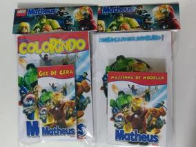 Promoção 27 Kit Colorir Personalizado Massinha + Giz!
