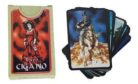 Tarô Cigano Com Manual Baralho 36 Cartas Tarot Esoterico