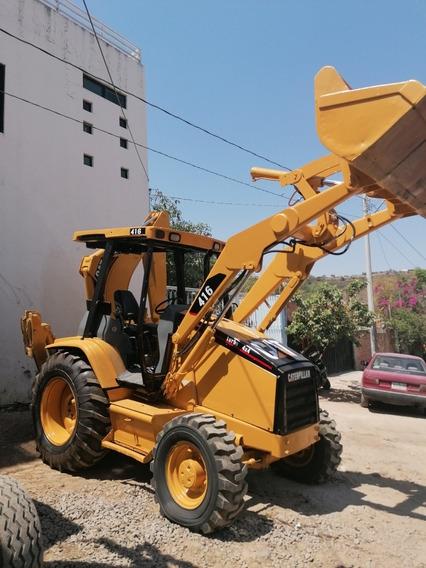 Retroexcavadora Caterpillar Cat 4x4 416c