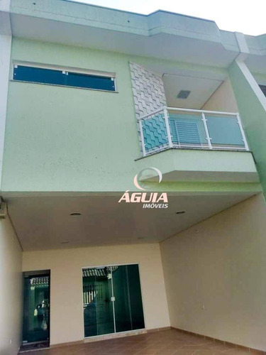 Sobrado Com 3 Dormitórios À Venda, 240 M² Por R$ 1.200.000 - Santa Maria - Santo André/sp - So1492
