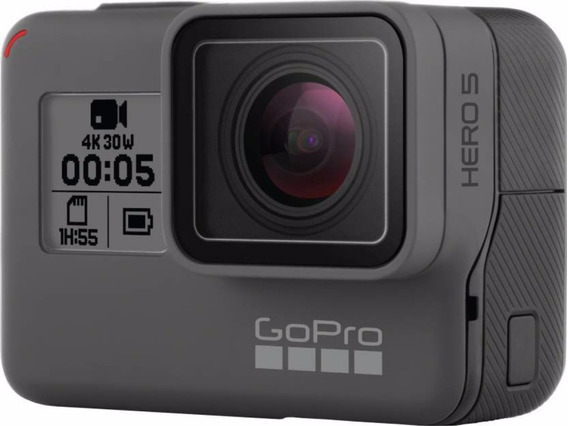 Go Pro Hero 5 Black 4k 12mp Kit (2 Bat/carg/correa/mem16gb)2