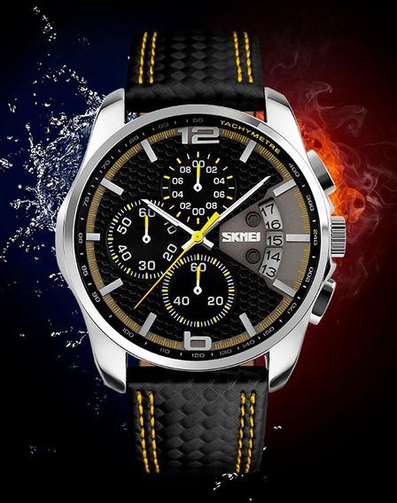 Novo Relógio Skmei 9106 Top Luxo Lançamento 2017