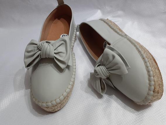 Zapatos Zapatillas Alpargatas Nude De Yute