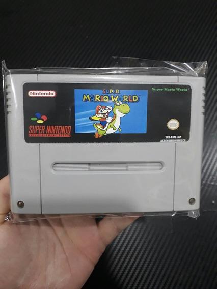Super Mario World Salvando