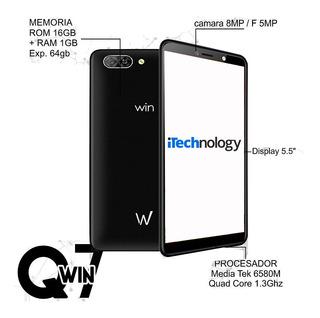 Telefono Win Q7 1gb+16gb Liberado Dual-sim Tienda (62 Vds)