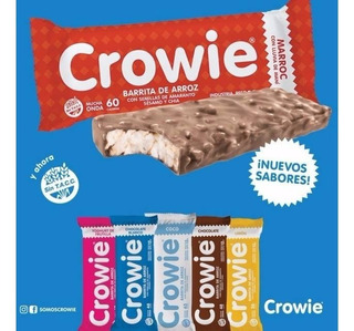 Barritas Crowie De Arroz Sin Tacc Paga 18 Llevate 24!!!