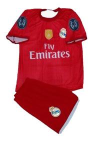 Conjunto Infantil Camisa\short Real Madrid Menina\menino