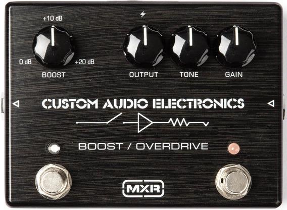 Pedal Mxr Mc402 Overdrive Boost Custom Shop C/ Nfe