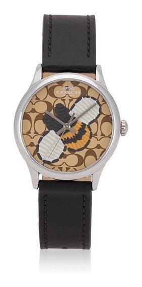 Coach Reloj Dama Nuevo 100% Original W1546 Abeja