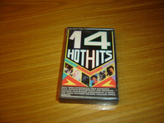 14 Hot Hits Cassette Argentina Kylie Minogue Lita Ford