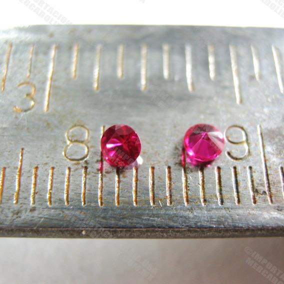 Rubí Piedra Preciosa Buen Precio 2 Rubíes De Laboratorio