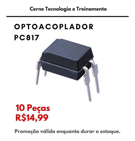 10 Peças Optoacoplador Pc817 Ci Pc 817
