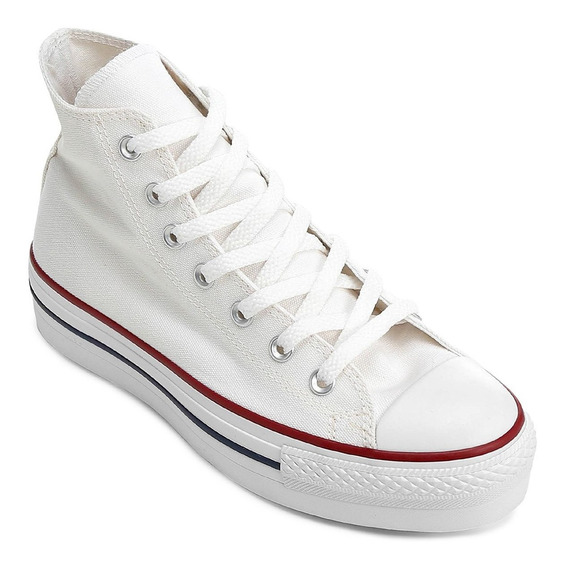 Zapatilla Converse Lift High Plataform Blanca Rcmdr