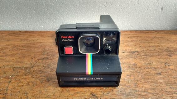Camera Polaroid No Estado Decoração Coleção Usada