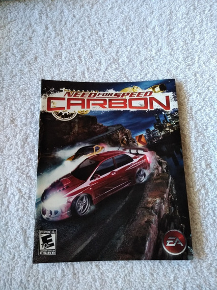 Manual Do Game Need For Speed Carbon Ps3 *** Leia