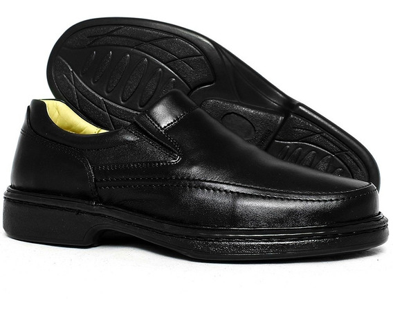 Sapato Masculino Promoçao Conforto 100% Em Couro Galway 2001
