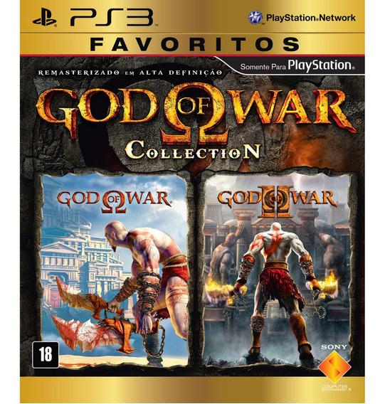 God Of War 1 E 2 Collection - Ps3 Digital Psn Envio Rápido