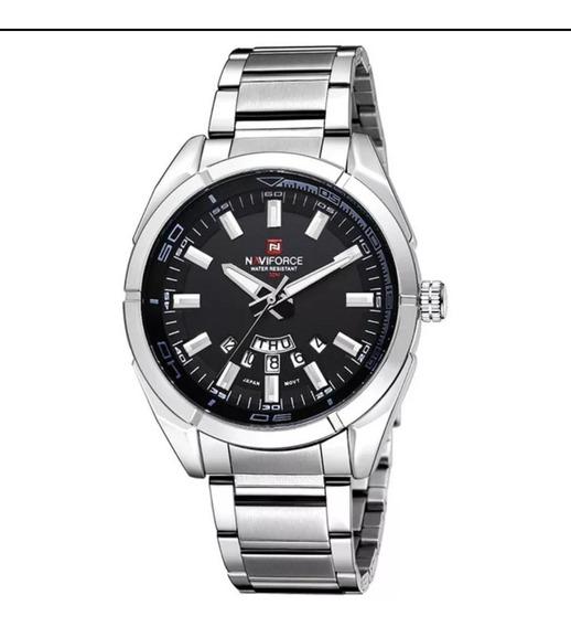 Relógio Naviforce Masculino Esportivo Aço Original Nf9038