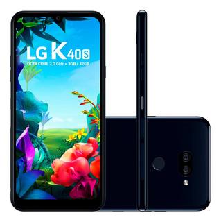 Smartphone LG K40s 32gb 6,1 Câmera 13mp Frontal 13mp Preto