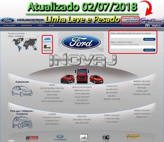 Catálogo Eletrônico Peças Ford Brasil 2018 Ultima Versão