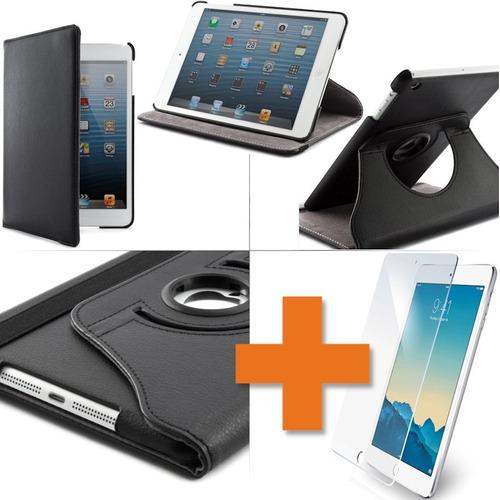 Protector Agenda 360 + Vidrio Templado iPad Mini 4 ®