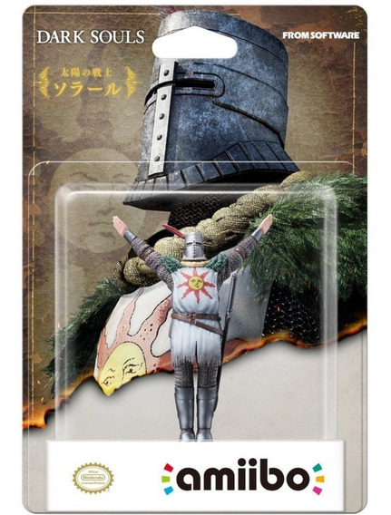 Amiibo Dark Souls Solaire Of Astora Praise The Sun Nintendo