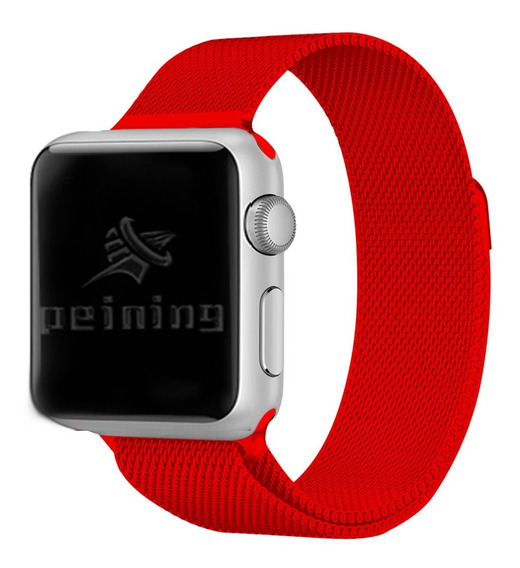 Pulseira Milanese Para Apple Watch Series 1 2 3 4 42mm 44mm
