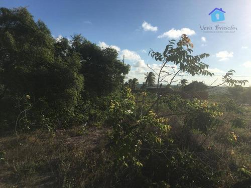 Imagem 1 de 8 de Terreno À Venda, 200 M² Por R$ 25.000 - Chácaras Do Mar - Carapibus - Te0660