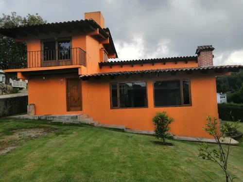 Imagen 1 de 16 de Casa En Renta En Casa Viejas, Valle De Bravo