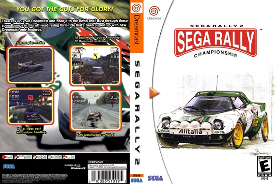Sega Rally 2 - Dreamcast - Patch - Selfboot