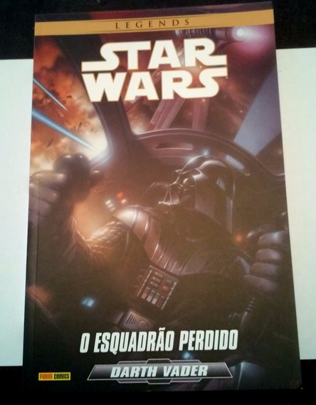 Livro Star Wars - O Esquadrão Perdido / Darth Vader (hq)