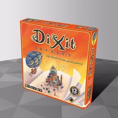Dixit Odyssey - Galapagos - Jogo De Tabuleiro/ Card