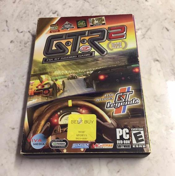 Game Gtr2 E Gt Legends Pack Pc Dvd Original Jogo Simulação