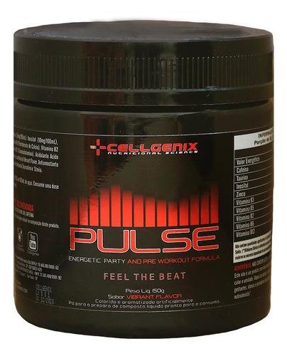 Pré-treino Pulse 150g - Cellgenix