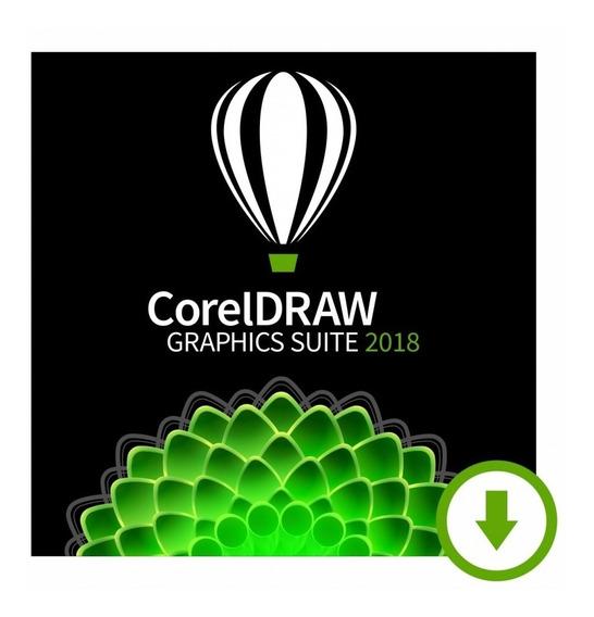 Corel Draw 2018 Envio Rápido + Chave