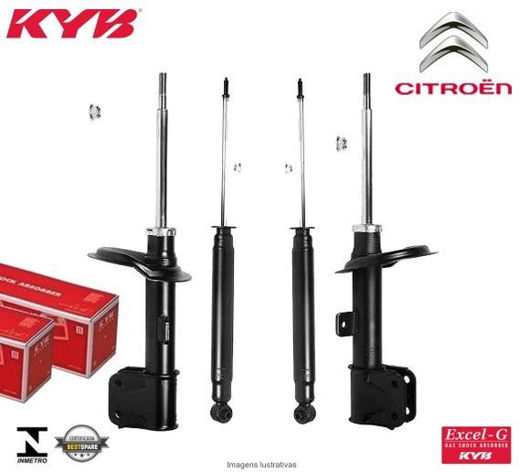 4 Amortecedorres Kayaba Citroen C4 Pallas/hatch/vtr 2007
