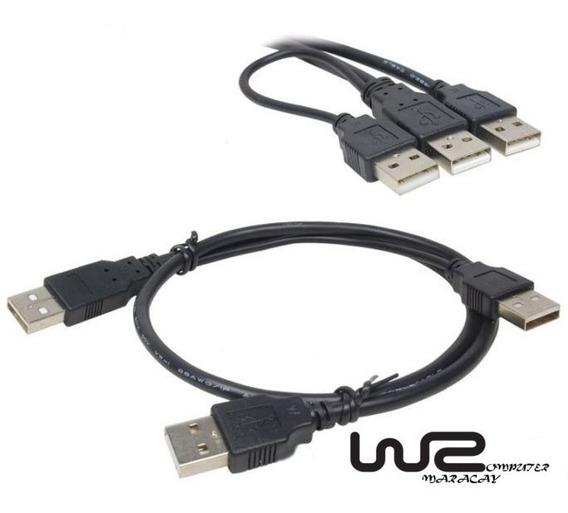 Cable De Extension Divisor Usb 2.0 Usb Macho A 2 Usb Macho