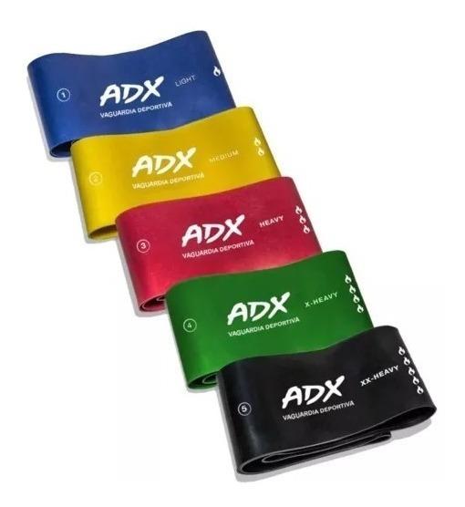 Set De 5 Bandas O Ligas De Resistencia Adx + Envio Gratis