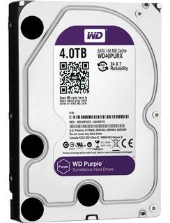Disco Wd Western Digital Purple Purpura 4tb Vigilancia Royal
