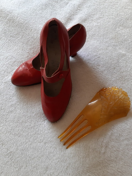 Zapatos De Danzas Españolas Para Niña. Ballet / Bailarinas