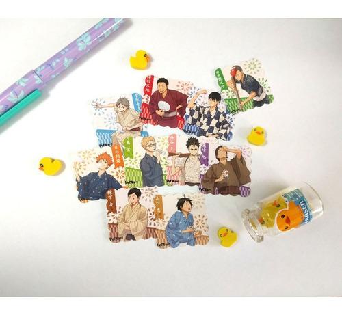 Set De 10 Stickers Haikyuu Anime Shoyo Hinata