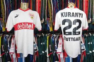 Stuttgart 2003 Camisa Titular Tamanho Gg Número 22 Kuranyi.