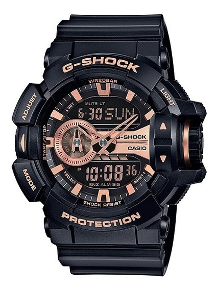 Relógio Casio G-shock Masculino Anadigi Ga-400gb-1a4dr