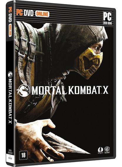 Mortal Kombat X Português Mídia Física Pc Novo Lacrado + Nf
