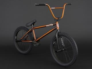 Bicicleta Bmx Profesional Fly Proton Orange ¡full Cromo!
